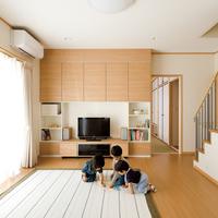 収納たっぷり家事効率UPのパントリーのある住まいのサムネイル
